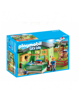 Playmobil refugio de gatos
