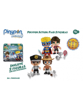 Pin y pon action pack