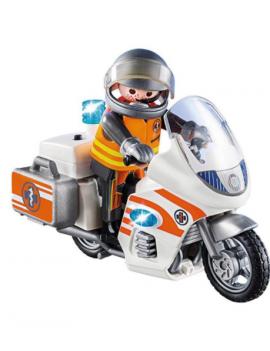 Playmobil City Life  Moto...