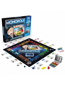 JUEGO MONOPOLY  SUPER ELECTRONICO BANKING