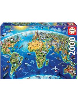 PUZZLE 2000 SÍMBOLOS DEL MUNDO
