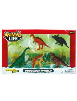 Figura Dinosaurios en caja...