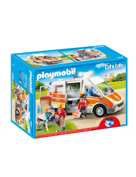 Playmobil ambulancia