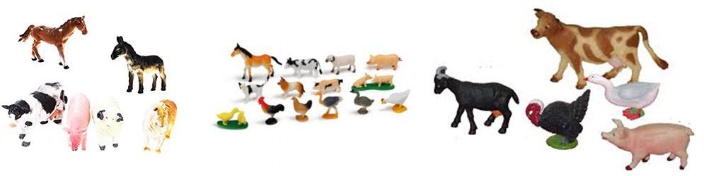 Animales de granja -  Juguetes y artículos para bebés