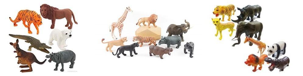 Animales salvajes de juguete -  Juguetes y artículos para bebés
