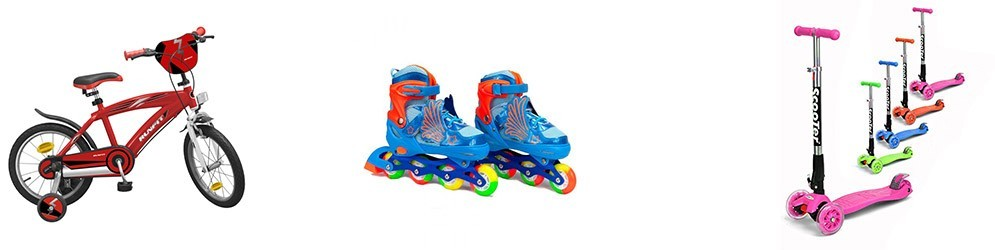 Bicicletas, patines y patinetes  -  Juguetes y artículos para bebés