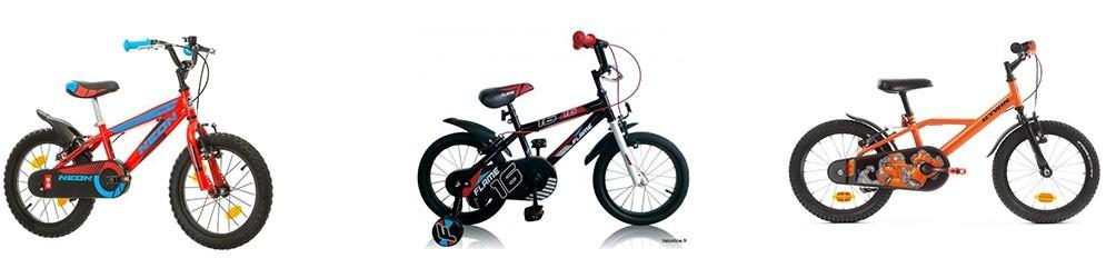 Bicicletas 16 pulgadas -  Juguetes y artículos para bebés