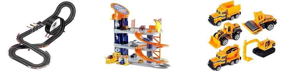 Vehículos, circuitos y parking -  Juguetes y artículos para bebés