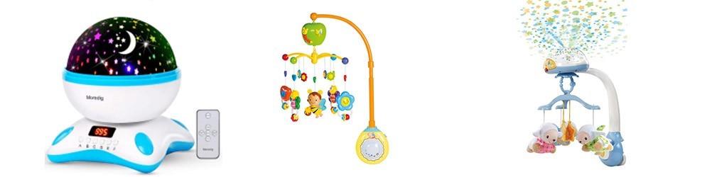 Carruseles y Proyectores para bebés -  Juguetes y artículos para bebés